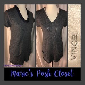 Lovely Charcoal Gray Tunic